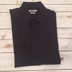 DKNY Slim Fit Dress Shirt